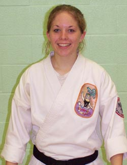 Sensei Amber McGrath