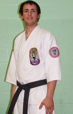 Sensei Nicholas Gartley