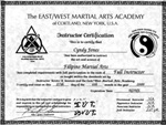 FULL INSTRUCTOR CERTIFICATE