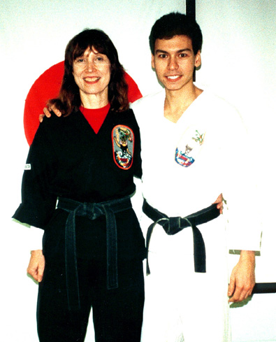 SENSEI CYNDY JONES AND SENSEI JOE FONTANA